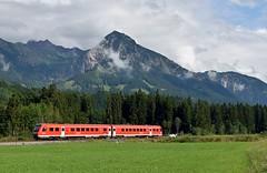 Fischen (Allgäu), RE naar Nürnberg (Ahrend01) Tags: fischen allgäu bayern beieren bergen alpen vakantiegebied
