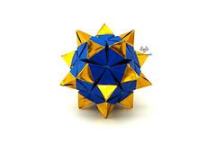 Rubin (Akizhi) Tags: origami modularorigami kusudama paper art crafts folding ekaterina lukasheva