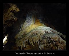 Grotte de Clamouse (Joel Carnat) Tags: grotte herault stalactites stalagmites