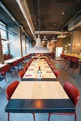 _DSC2087 (fdpdesign) Tags: pizzamaria pizzeria genova viacecchi foce italia italy design nikon d800 d200 furniture shopdesign industrial lampade arredo arredamento legno ferro abete tavoli sedie locali