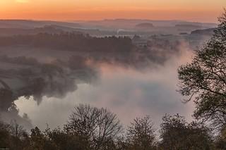 *Autumn morning in the Volcanic Eifel* - Herbstmorgen in der Vulkaneifel*