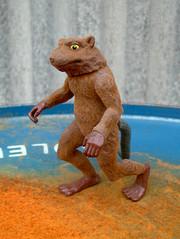 Splinter (The Moog Image Dump) Tags: 1992 mirage studios playmate toys master splinter rat flocked tmnt teenage mutant ninja turtles toy figure