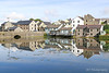 Pembroke 8613 (digitalslrshooter) Tags: pembroke lilypond reflections bridge water wales