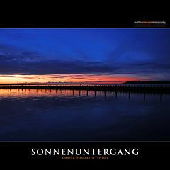 SONNENUNTERGANG (Matthias Besant) Tags: hausboot urlaub ribnitzdamgarten ostsee mecklenburgvorpommern matthiasbesant see sonnenuntergang sonne himmel wolken