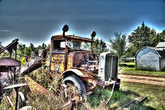 GY8A9731PM.jpg (BP3811) Tags: 2017 antique august hdr historic madison mcleod old rusty southdakota abandoned apart county dept highway history junk parts truck village wreck fun oshkosh