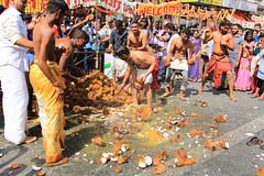 Tu me casses les noix #3 (Spot Life) Tags: paris chapelle cortège défilé fête procession dieu ganesh hindoux eléphant noix coco casser rituel