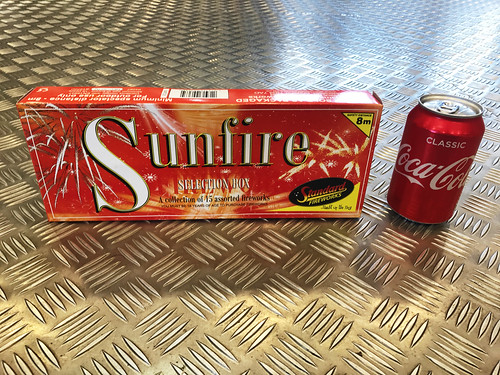 Sunfire Selection Box by Standard Fireworks