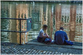 Bristol , along the Avon river ...