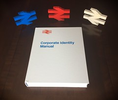 You know you have an amazing family when... (michaelgale) Tags: britishrail british rail identity manual present logo doublearrow book