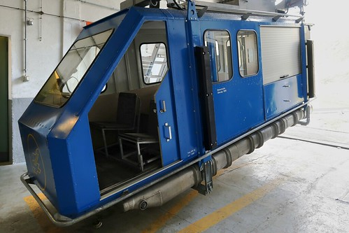 Oberalp Pass - Military Cable Car