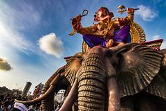 Ganesha Chaturthi 2017 in Mumbai (marcusfornell) Tags: india indien asia asien maharashtra mumbai bombay ganpatti ganesha ganeshafestival ganpattifestival festival ganeshachaturthi elephant god goddess
