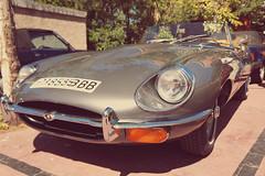 Jaguar E Type 4.2 (Miguel Angel Prieto Ciudad) Tags: retro auto british sun light old vintage uk england sony spain jaguar classic sportcar motor automobile roadster cabrio motorshow sonyalpha etype mirrorless classiccar sonyalphadslr