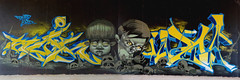 RUINS x INCA (SRCARAMELOS) Tags: graffiti graff graffitiporn graffporn green good inca incain instagraffiti instaporn infierno insta ironlak sez spain satan spray streetart skull street sick cain candyman colours cyrus cans