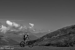 A bike track to the Heaven (Gian Floridia) Tags: madraccio madritsch solda sulden bn bw bienne bike biketrack heaven mountainbike