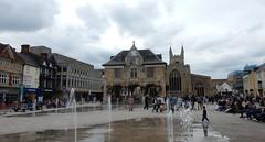 Cathedral Square, Peterborough (John Steedman) Tags: cathedralsquare peterborough cathedral uk unitedkingdom england イングランド 英格兰 greatbritain grandebretagne grossbritannien 大不列顛島 グレートブリテン島 英國 イギリス ロンドン guildhall church