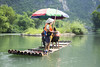 (Wojtek Zet) Tags: bamboo rafting raft yangshuo river china water september 2017 people