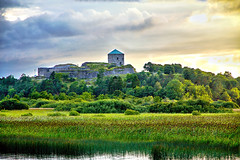 Bohus Fortress (ClickSnapShot) Tags: bohusfortress fästning ilobsterit panorama evening grass landmark historical kungälv fortress cruise sweden