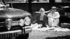 Revisited : Le Déjeuner sur l'herbe (The Luncheon on the Grass) by Edouard Manet, 1863 (fcafca) Tags: sony alpha7 a7 jupiter9 sonnar russianlens sovietlens portraitlens manuallens 85mm f2 kmz m39 l39 zorki street rawtherapee paris bw blackandwhite noiretblanc car voiture ledéjeunersurlherbe theluncheononthegrass collectioncar vintagecar manet people déjeuner luncheon