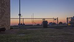 Sunrise on Mojo Football (atcbrayne) Tags: video mojo football sunrise time lapse tl movie color organe blue green permian highschool