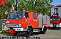 509[L]36 - GBA 2,5/12 Steyr 790/Rosenbauer - OSP Wąwolnica (Pawel Bednarczyk) Tags: 509l 509l36 lpu98ss gba rosenbauer steyr 790 wawolnica wąwolnica osp lubelskie lubelszczyzna puławy puławski 04062017 pielgrzymka firedepartment firebrigade engine