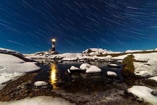 Trails of light
