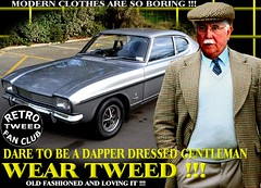 Modern Clothes Are So Boring r tweed Part 15 (MemoryCube5000) Tags: tweedjacket tweedcap man mens gents cavalrytwill retro car cars auto autos vehicle vehicles transport tweed flat cap harris fashion club rally vintage nz kiwi newzealand thetweedrun distinguished menswear canon outdoor poster people art words dapper wearingtweed manwearing oldschool british old innewzealand run drive ride invercargill dunedin oamaru christchurch nelson wellington wanganui plamerstonnorth newplymouth hastings napier gisborne rotorua tauranga auckland hamilton whangarei queenstown vintagecarclub oldcar canterbury otago sydney london scottish uk english melbourne country fordcapri 1970s