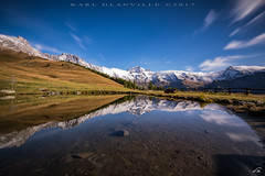 Reflections of the Grand Combin (glank27) Tags: reflections grand combin mountain alps champillon aosta valle daosta italy italia karl glanville canon eos 5d mk iv ef 1635mm f4l is usm lake long exposure haida nd30 landscape