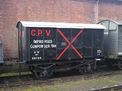 IMG_7203 - GWR V6 Iron Mink Improvised Gunpowder Van 58725 (SVREnthusiast) Tags: severnvalleyrailway svr severnvalley severn valley railway autumngala2017 gwrv6ironminkimprovisedgunpowdervan58725 gwr v6 ironmink improvisedgunpowdervan 58725