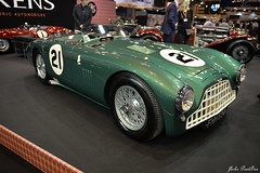 1953 Aston Martin DB3 (pontfire) Tags: aston martin db3 1953 fhh 534 barquette barchetta 21 roadster race racing competition course 2017 auto automobile automovel automovil automobil cars anciennes ancienne old oldtimers paris rétromobile porte de versailles salon français voiture wagen car grande bretagne anglais anglaise english british britain england classique classic klassic chrome rétromobile2017 antique collection david brown