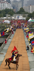 King_Jeongjo_Tomb_Parade_17 (KOREA.NET - Official page of the Republic of Korea) Tags: 정조대왕능행차 서울 퍼레이드 혜경궁 홍씨 한강 한국 대한민국 조선시대 노들섬 한강공원 창덕궁 changdeokgungpalace korea seoul joengjo joseondynasty joseon parade hanbok king hangang