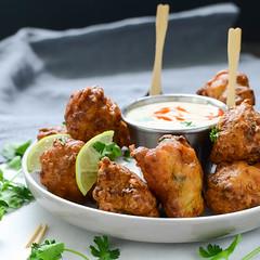 Aruban dish, Keshi Yena (JohnJefferis01) Tags: appetizer conchfritters fritters seafood