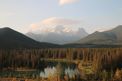 Clouds in the mountains (davebloggs007) Tags: alberta rockies canada bow river
