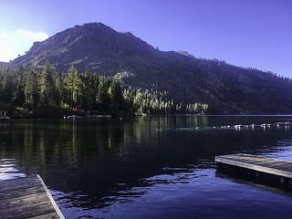 Fallen Leaf Lake's south shore