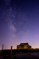 Milky Way (arlene sopranzetti) Tags: milky way nj ibsp judges shack beach night stars