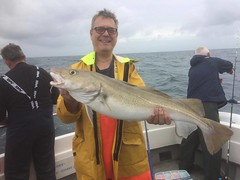 "Ray Evans 12lbs 8ozs Cod • <a style=""font-size:0.8em;"" href=""http://www.flickr.com/photos/113772263@N05/23581561078/"" target=""_blank"">View on Flickr</a>"