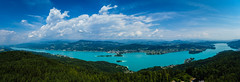 Wörthersee (CHCaptures) Tags: a7ii aussicht carinthia cori kã¤rnten landschaft panorama pyramidenkogel sel2470z sony sommer wã¶rthersee bluesky clouds ilce7m2 lake landscape outdoor summer view