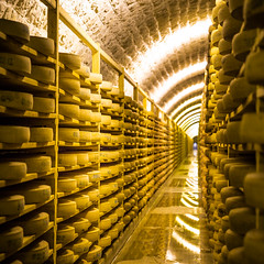 Comte cheese (Zeeyolq Photography) Tags: cheese comte food france frenchfood gastronomie jura lesrousses