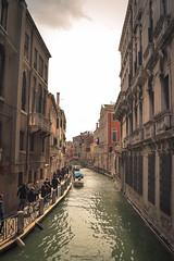 Canal (Mariano Colombotto) Tags: venice venezia venecia italy italia canal travel viaje nikon city ciudad old cloudy infinitexposure autofocus