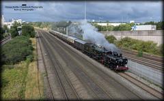 9600 & 5043 (Tomahawk Photography) Tags: 9600 pannier 5043 earlofmountedgcumbe castle washwoodheath steamtrain ukrail ukrailways uksteam rail railway railways train britishrailways