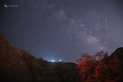 Milkyway (hisalman) Tags: milkyway night mountains tree sky canon