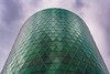 Westhafen-Tower, Frankfurt am Main (oliver.nispel) Tags: 069 frankfurtammain architectural architecture building city ffm frankfurt germany hesse mainhattan place urban urbex hessen de westhafen tower harbour hafen sky