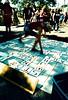 Onyx Yoga (Georgie_grrl) Tags: pedestriansunday july2017 kensingtonmarket musicians performers buskers community pentaxk1000 rikenon12828mm toronto ontario expiredfilm