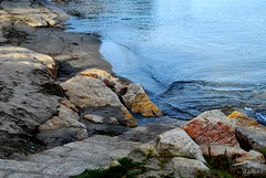 Cala (Franco D´Albao) Tags: francodalabao dalbao nikond60 mar sea cala cove rocas rocks agua water