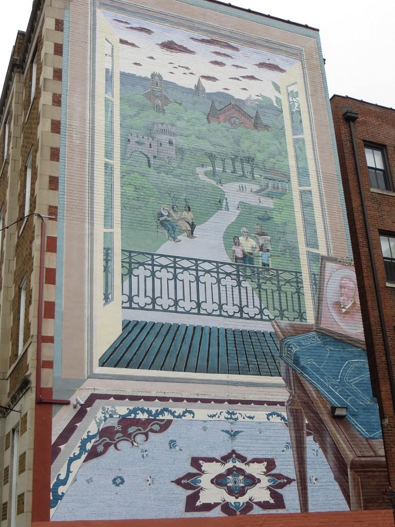 The world 39 s best photos of cincinnati and mural flickr for Cincinnatus mural