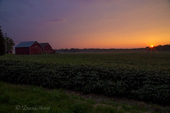 Rural Sunset (david.horst.7) Tags: rural barn farm sunset sky
