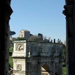 Arch of Constantine (from the Colosseum) / Arc de Constantí (des del Colosseu), Roma thumbnail
