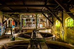 Vergangene Zeiten (Talixor) Tags: alt hdr gera industriegebäude ruine
