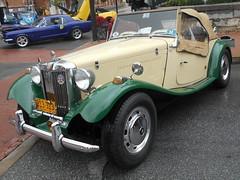 1953 MG TD (splattergraphics) Tags: 1953 mg td mgtd carshow charlestownwv