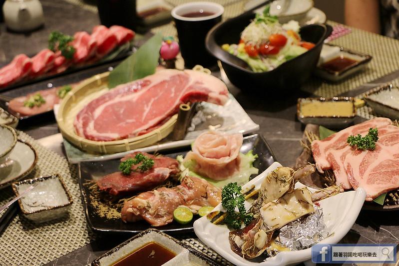 原月日式頂級帝王蟹吃到飽板橋燒烤吃068