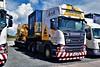 DSC_0011 (richellis1978) Tags: truck lorry cannock hgv lgv transport haulage logistics scania heavy 6x4 stgocat3 ainscough crane hire r r580 v8 mx65bbk mx15eyb